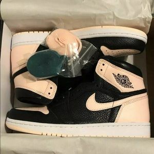 Air Jordan Retro 1 OG Hi Crimson Tint Black Pink